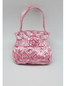 Сумочка розовая Розочка