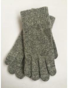 Перчатки зимние светло-серого цвета Дэни